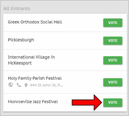 Vote for the Monroeville Foundation in the Trib Live Best of in the Fair/Festival category