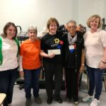 Garden City United Methodist Church food bank donation from the Monroeville Foundation
