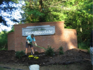 Meadowdale Beautification Project by the Monroeville Foundation